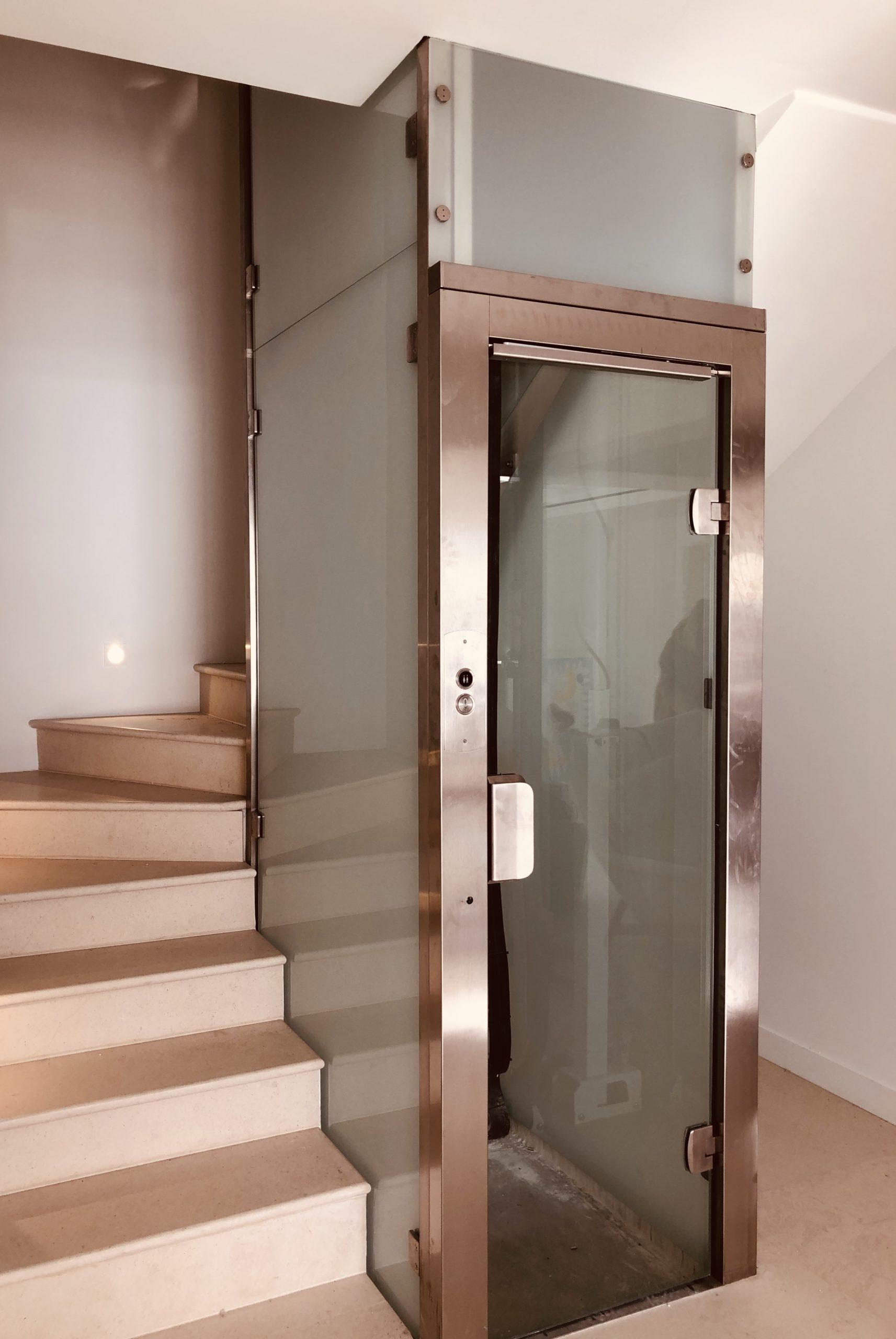 garde corps ascenseur