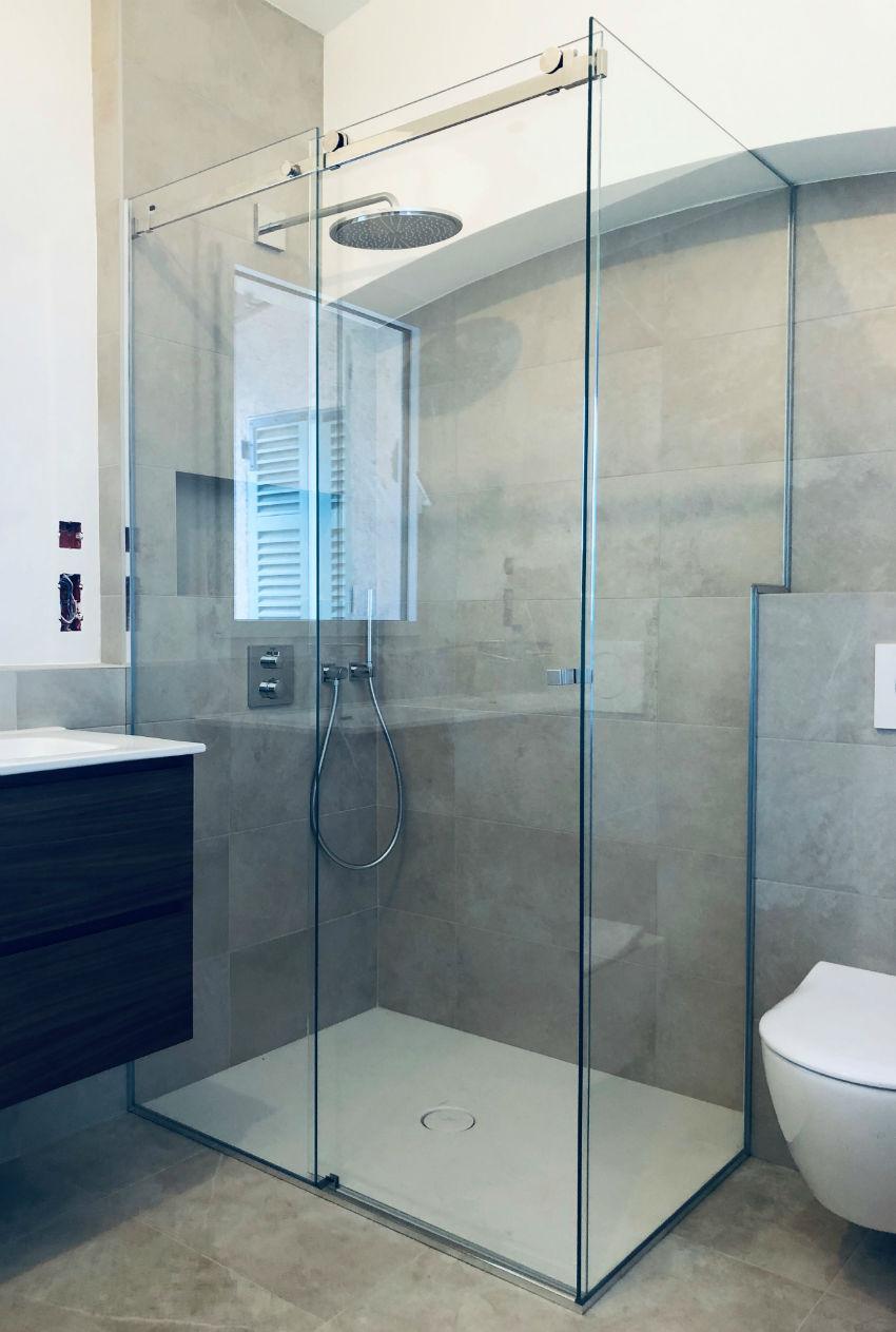 cabine de douche coulissante